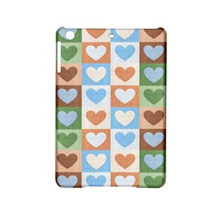 Hearts Plaid Ipad Mini 2 Hardshell Cases by MoreColorsinLife