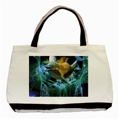 Funny Dolphin In The Universe Basic Tote Bag (two Sides)