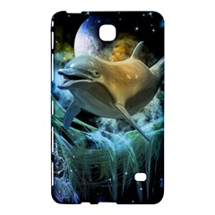 Funny Dolphin In The Universe Samsung Galaxy Tab 4 (7 ) Hardshell Case