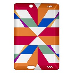 Shapes In Triangles Kindle Fire Hd (2013) Hardshell Case by LalyLauraFLM