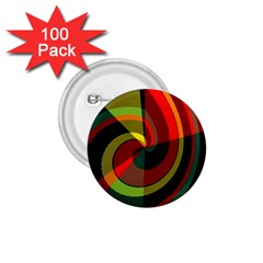 Spiral 1 75  Button (100 Pack)  by LalyLauraFLM