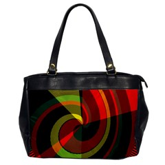 Spiral Oversize Office Handbag by LalyLauraFLM