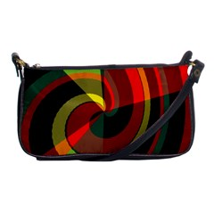 Spiral Shoulder Clutch Bag by LalyLauraFLM