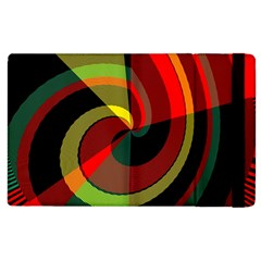 Spiral Apple Ipad 2 Flip Case by LalyLauraFLM