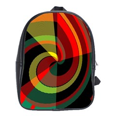 Spiral School Bag (xl) by LalyLauraFLM