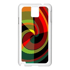 Spiral Samsung Galaxy Note 3 N9005 Case (white) by LalyLauraFLM