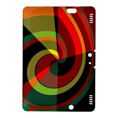 Spiral	kindle Fire Hdx 8 9  Hardshell Case by LalyLauraFLM