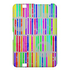 Colorful Vintage Stripes Kindle Fire Hd 8 9  Hardshell Case by LalyLauraFLM