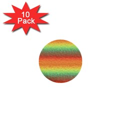 Gradient Chaos 1  Mini Button (10 Pack)  by LalyLauraFLM