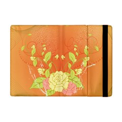 Beautiful Flowers In Soft Colors Apple Ipad Mini Flip Case by FantasyWorld7