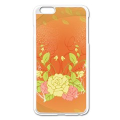 Beautiful Flowers In Soft Colors Apple Iphone 6 Plus/6s Plus Enamel White Case by FantasyWorld7