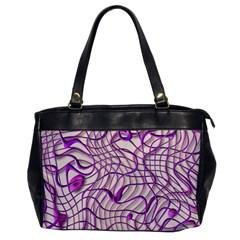 Ribbon Chaos 2 Lilac Office Handbags by ImpressiveMoments