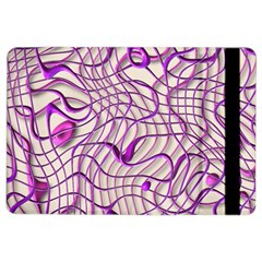 Ribbon Chaos 2 Lilac Ipad Air 2 Flip by ImpressiveMoments