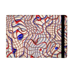 Ribbon Chaos 2 Red Blue Ipad Mini 2 Flip Cases by ImpressiveMoments