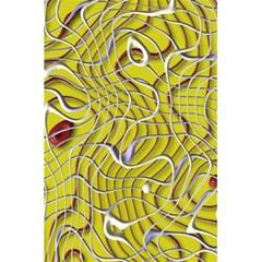 Ribbon Chaos 2 Yellow 5 5  X 8 5  Notebooks by ImpressiveMoments