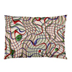 Ribbon Chaos 2 Pillow Cases (two Sides)