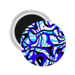 Ribbon Chaos Ocean 2.25  Magnets by ImpressiveMoments