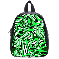 Ribbon Chaos Green School Bags (small)  by ImpressiveMoments