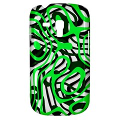 Ribbon Chaos Green Samsung Galaxy S3 Mini I8190 Hardshell Case by ImpressiveMoments