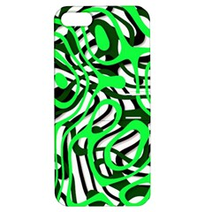 Ribbon Chaos Green Apple iPhone 5 Hardshell Case with Stand by ImpressiveMoments