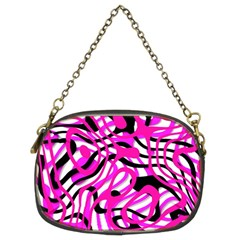 Ribbon Chaos Pink Chain Purses (two Sides)  by ImpressiveMoments