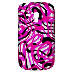 Ribbon Chaos Pink Samsung Galaxy S3 MINI I8190 Hardshell Case by ImpressiveMoments