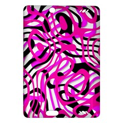 Ribbon Chaos Pink Kindle Fire HD (2013) Hardshell Case by ImpressiveMoments