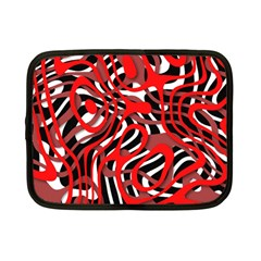 Ribbon Chaos Red Netbook Case (small)  by ImpressiveMoments