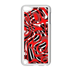 Ribbon Chaos Red Apple iPod Touch 5 Case (White) by ImpressiveMoments