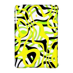 Ribbon Chaos Yellow Apple Ipad Mini Hardshell Case (compatible With Smart Cover) by ImpressiveMoments