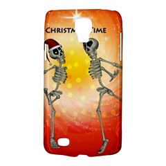Dancing For Christmas, Funny Skeletons Galaxy S4 Active by FantasyWorld7