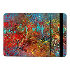 Abstract In Red, Turquoise, And Yellow Samsung Galaxy Tab Pro 10 1  Flip Case by theunrulyartist