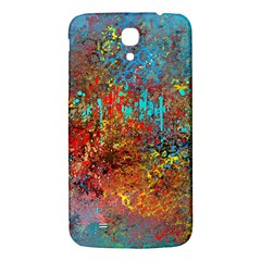 Abstract In Red, Turquoise, And Yellow Samsung Galaxy Mega I9200 Hardshell Back Case by theunrulyartist