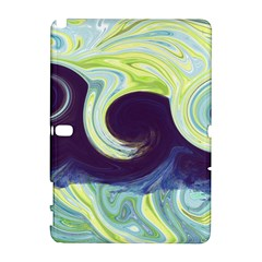 Abstract Ocean Waves Samsung Galaxy Note 10 1 (p600) Hardshell Case by theunrulyartist
