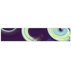 Abstract Ocean Waves Flano Scarf (large)