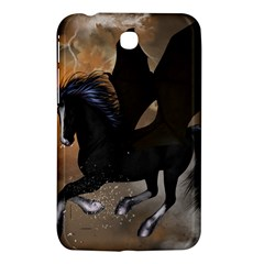 Awesome Dark Unicorn With Clouds Samsung Galaxy Tab 3 (7 ) P3200 Hardshell Case  by FantasyWorld7