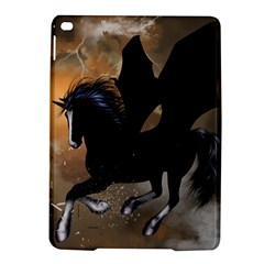Awesome Dark Unicorn With Clouds Ipad Air 2 Hardshell Cases by FantasyWorld7