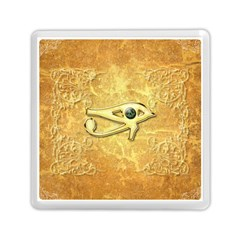 The All Seeing Eye With Eye Made Of Diamond Memory Card Reader (square)  by FantasyWorld7
