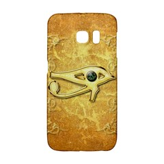The All Seeing Eye With Eye Made Of Diamond Galaxy S6 Edge by FantasyWorld7