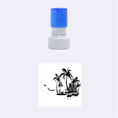 Surfing Rubber Round Stamps (small) by EnjoymentArt