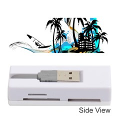 Surfing Memory Card Reader (stick)  by EnjoymentArt