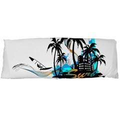 Surfing Body Pillow Cases Dakimakura (two Sides)  by EnjoymentArt