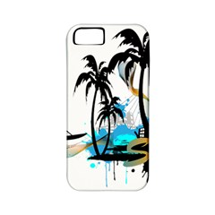 Surfing Apple Iphone 5 Classic Hardshell Case (pc+silicone) by EnjoymentArt