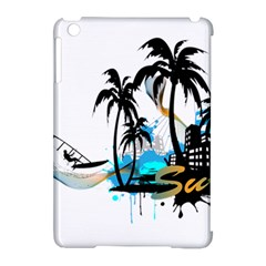 Surfing Apple Ipad Mini Hardshell Case (compatible With Smart Cover) by EnjoymentArt