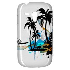 Surfing Samsung Galaxy S3 Mini I8190 Hardshell Case by EnjoymentArt