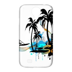 Surfing Samsung Galaxy S4 Classic Hardshell Case (pc+silicone) by EnjoymentArt