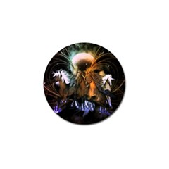 Wonderful Horses In The Universe Golf Ball Marker (10 Pack) by FantasyWorld7