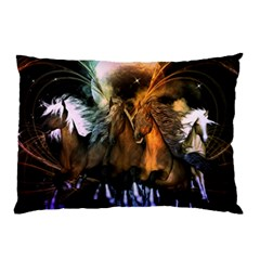 Wonderful Horses In The Universe Pillow Cases (two Sides)