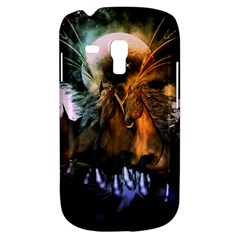Wonderful Horses In The Universe Samsung Galaxy S3 Mini I8190 Hardshell Case by FantasyWorld7