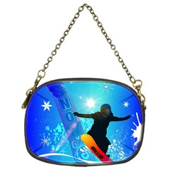 Snowboarding Chain Purses (one Side)  by FantasyWorld7